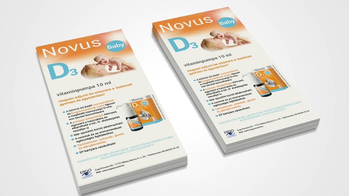 NovusD3 szórólap