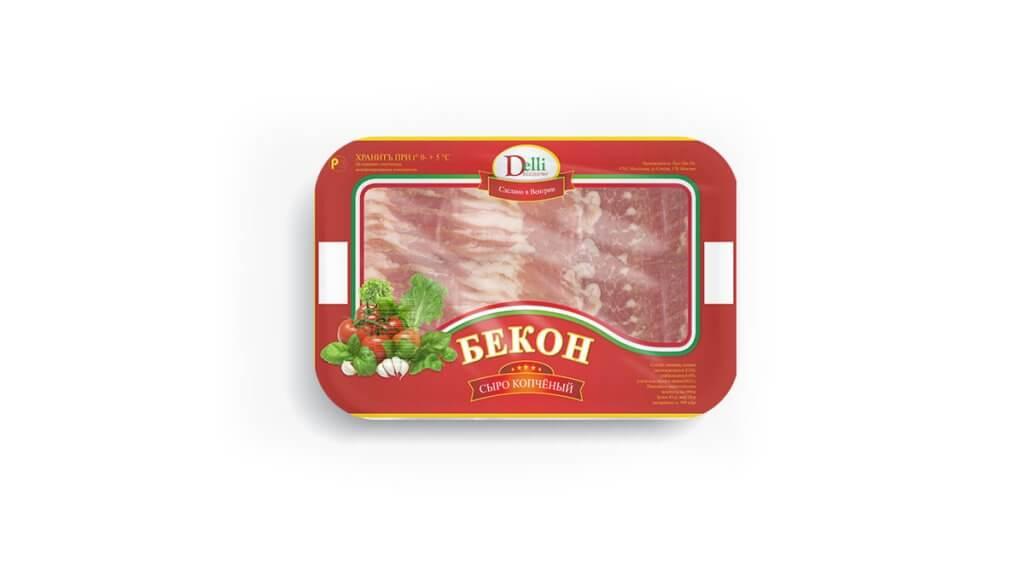 Delli-Bacon csomagolás